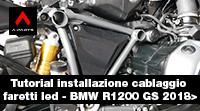 Video installazione cablaggio BMW R1200GS