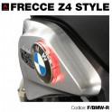 Frecce led rossi moto BMW-Z4 style 70 mm
