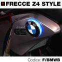 Frecce led blu moto BMW-Z4 style - 70 mm