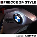 Frecce led bianco moto BMW-Z4 style -70 mm