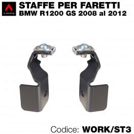 Staffe per faretti  per BMW R1200 GS 2008-2012