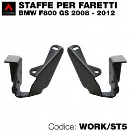 Staffe per faretti  per BMW F800 GS 2008-2012