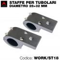 Staffe tubolari - Diametro 25-32mm
