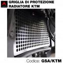 Griglia di protezione per radiatore KTM
