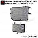 Griglia di protezione per radiatore Yamaha MT10-R1