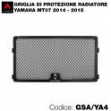 Griglia di protezione per radiatore Yamaha MT07