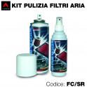 Kit pulizia per filtri aria