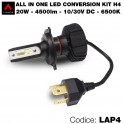 Led conversion kit, 1 lampadina H4