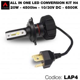 Led conversion kit, 1 lampadina H4
