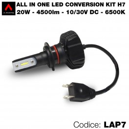 Led conversion kit, 1 lampadina H7