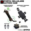Porta cellulare/action cam
