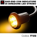 Terminali manubrio bar ends led