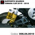 Supporto scarico Yamaha XJR