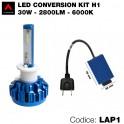 Led conversion kit, 1 lampadina H1