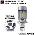Lampada led COB H4