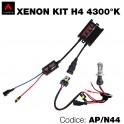 Kit xenon slim 4300°K H4