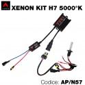 Kit xenon moto 5000°K H7