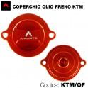 Coperchio olio freni KTM Duke 125 - 200 - 990