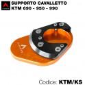 Supporto cavalletto KTM 690 - 950 - 990