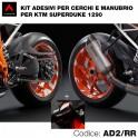 Kit Adesivi KTM 1290 Super Duke R