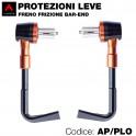 Kit 2 protezioni leve freno-frizione bar-end
