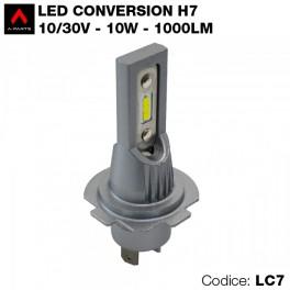 Led conversion kit, 1 lampadina H7