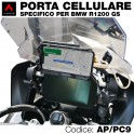 Porta cellulare specifico per BMW R1200 GS 2019 in poi